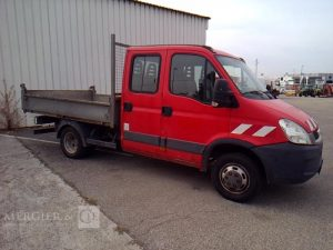 IVECO DAILY 35C13 BENNE ROUGE BL-694-KW