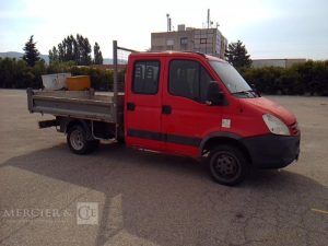 IVECO DAILY 35C12 BENNE – NON ROULANT ROUGE CE-486-ZR