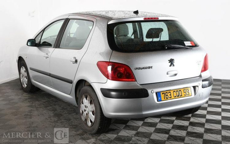PEUGEOT 307 1,6 HDI 90CH GRIS 763CQD59
