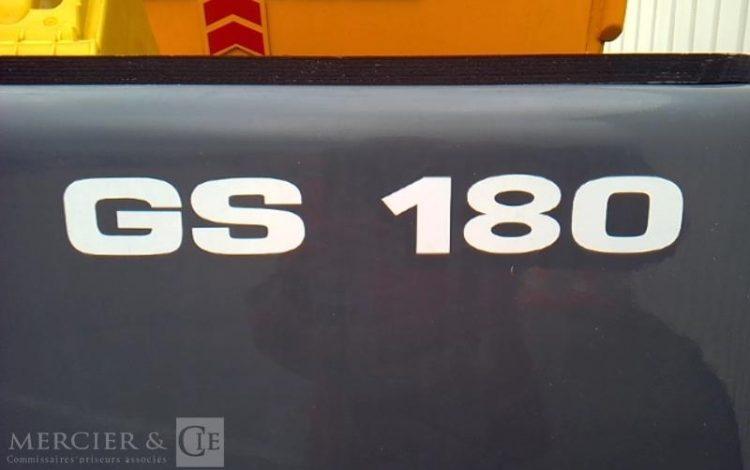 BAUMANN CHARIOT FRONTAL GS180 – année 2014 JAUNE GS180