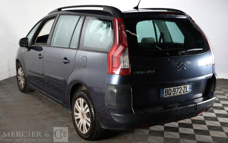 CITROEN GD C4 PICASSO HDI 110 FAP PACK AMBIANCE BMP6 VIOLET BQ-972-ZL