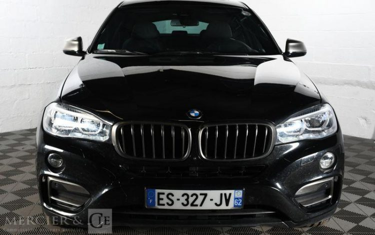 BMW X6 3,0 D 258 EXCLUSIVE NOIR ES-327-JV