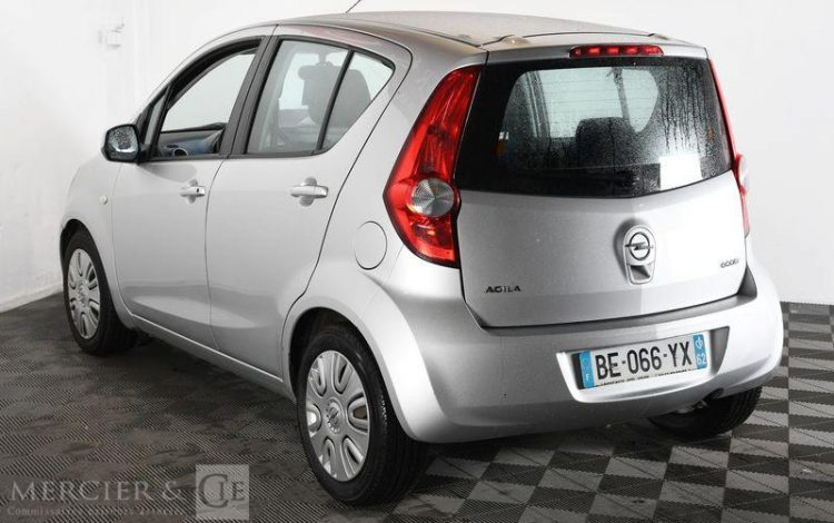 OPEL AGILA 1,0 65CH ENJOY GPL GRIS BE-066-YX