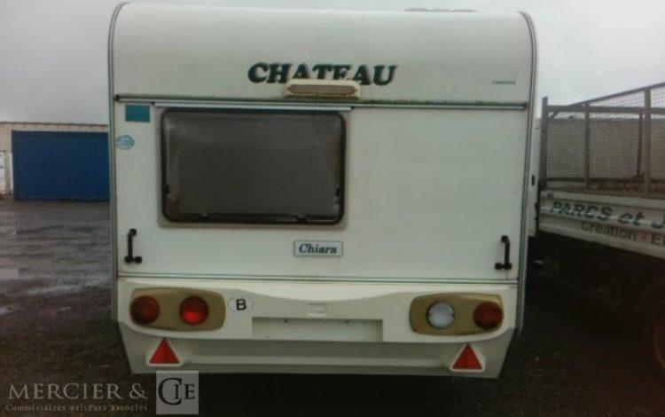 GENERIQUE CARAVANE CHATEAU 445 CHIARA BLANC QAEY007
