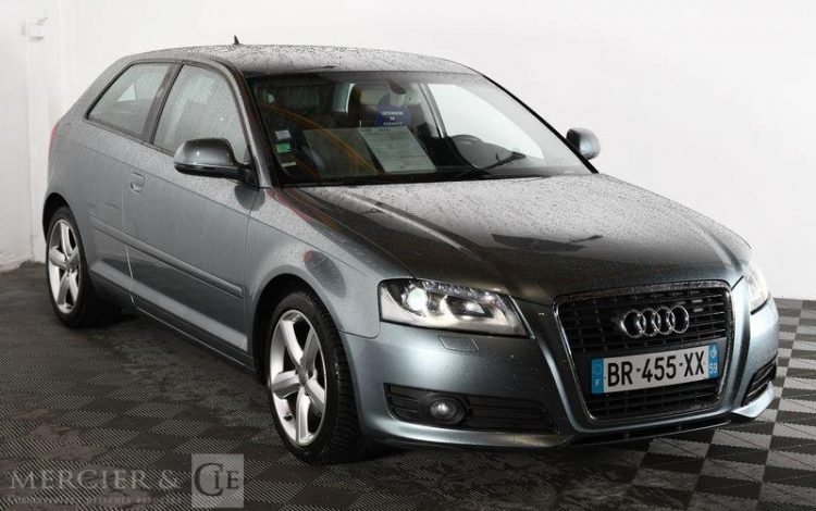 AUDI A3 2,0 TDI 140 DPF AMBITION LUXE GRIS BR-455-XX