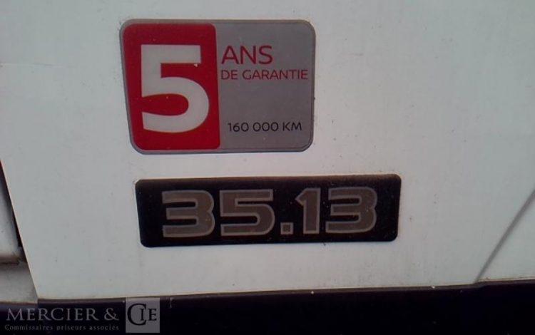NISSAN 35.13 NT400 BENNE BLANC KE-496-PP