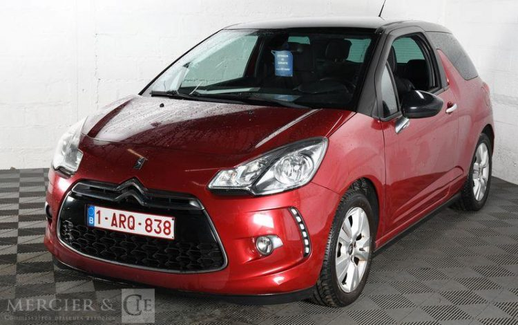 DS DS 3 1,6 HDI 90CH BVM ROUGE 1ARQ838