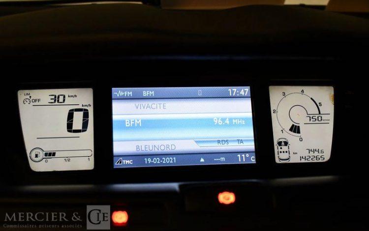 CITROEN GD C4 PICASSO 1,6 HDI 110CH BVM6 GRIS 1ECR603