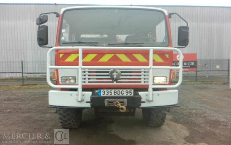 RENAULT 85 150 TI DOUBLE CAB TONNE A EAU 4X4  335BDG95
