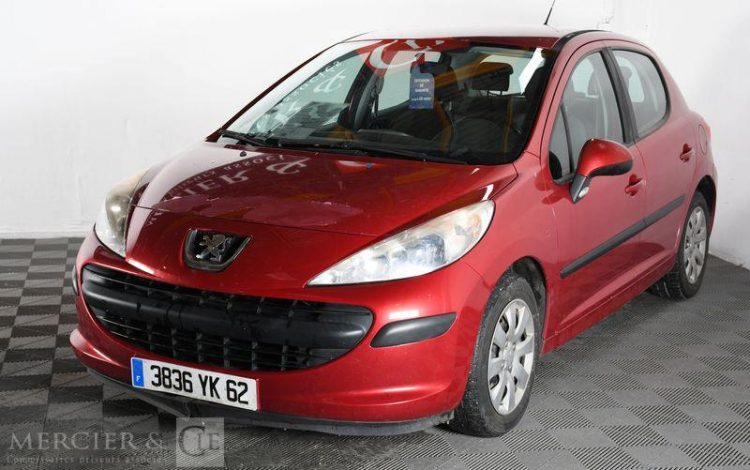 PEUGEOT 207 1,4 HDI 70CH TRENDY 5P ROUGE 3836YK62