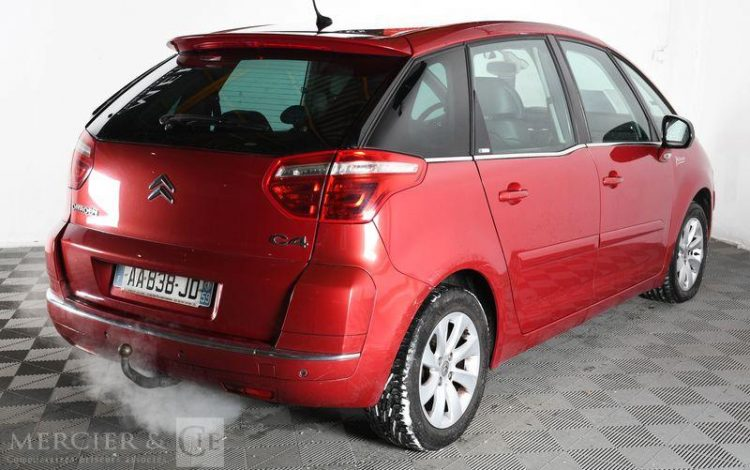 CITROEN C4 PICASSO 1,6 HDI 110CH EXCLUSIVE FAP ROUGE AA-838-JD