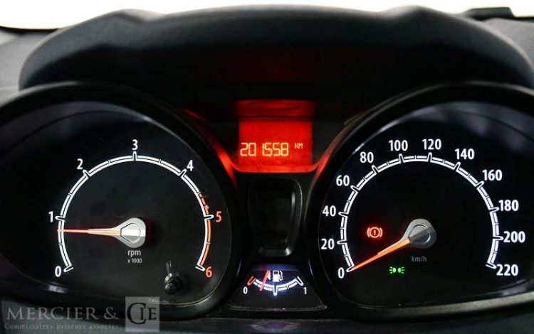 FORD FIESTA 1,4 TDCI 68CH AMBIENTE 5P ROUGE BW-405-GZ