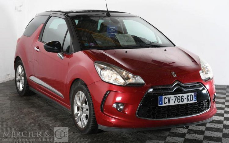 DS DS3 CABRIO ROUGE CV-766-KD