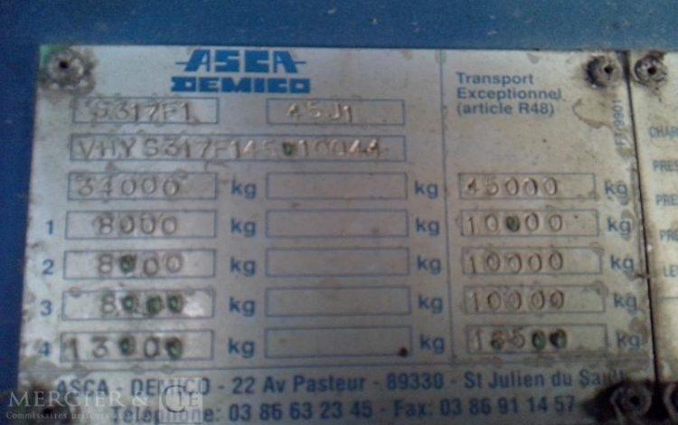 ASCA PORTE CHAR  CY-636-AS