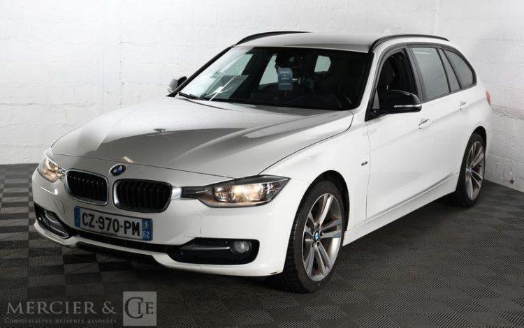 BMW SERIE 3 TOURING 320D SPORT BLANC CZ-970-PM