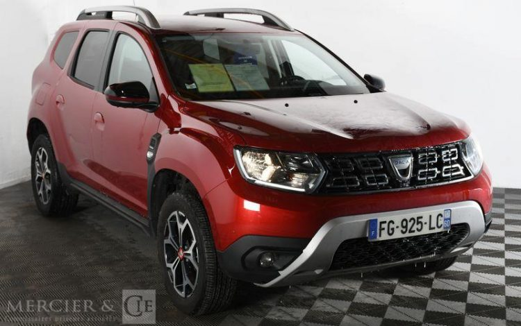 DACIA DUSTER TECHROAD BLUE DCI 115 4X2 ROUGE FG-925-LC