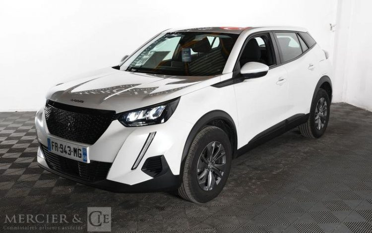 PEUGEOT 2008 ACTIVE PURE TECH 130 BLANC FR-943-MG