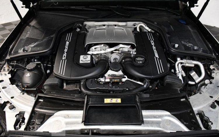 MERCEDES C63 AMG S 510CV NOIR ZX49539