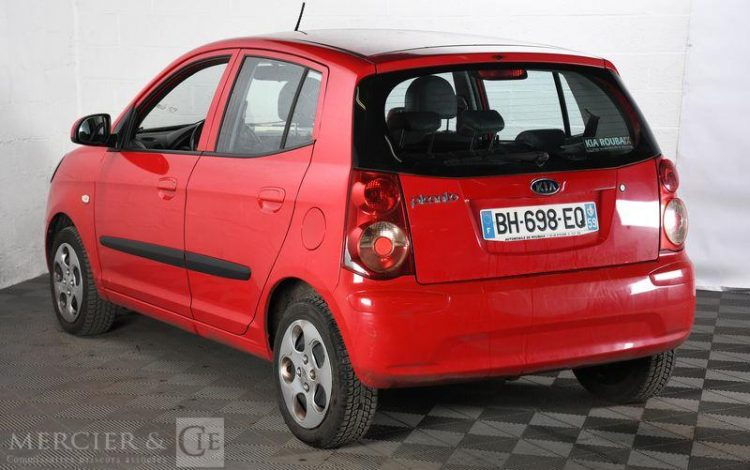 KIA PICANTO 1,0 STYLE PACK ROUGE BH-698-EQ