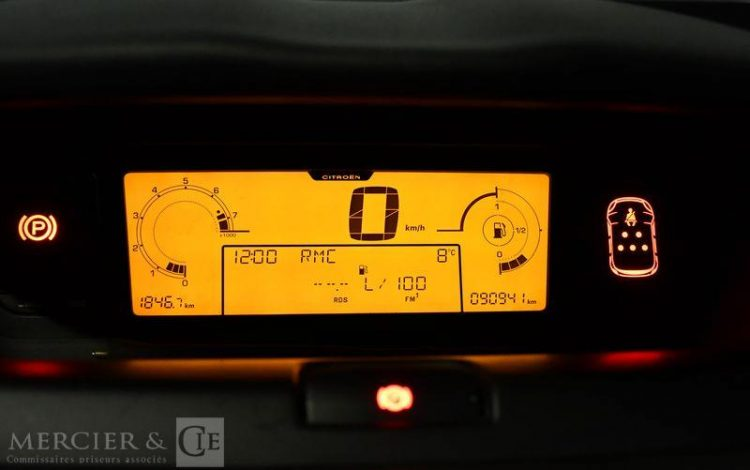 CITROEN C4 PICASSO 16i VTI 120CH BLEU HPW583