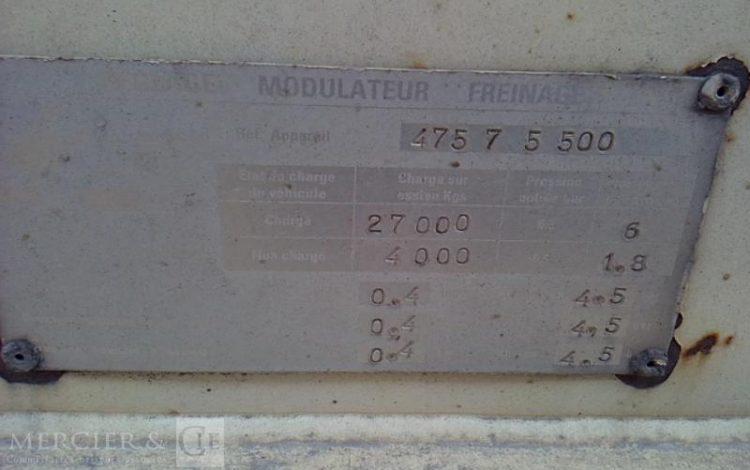 SAMRO SAMRO PORTE CONTAINER 3ESS 38T BLANC AP-358-TN