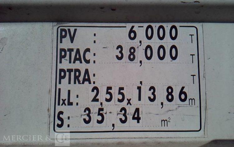 GENERIQUE KRONE BACHEE 3 ESS 38T GRIS DZ-249-WC