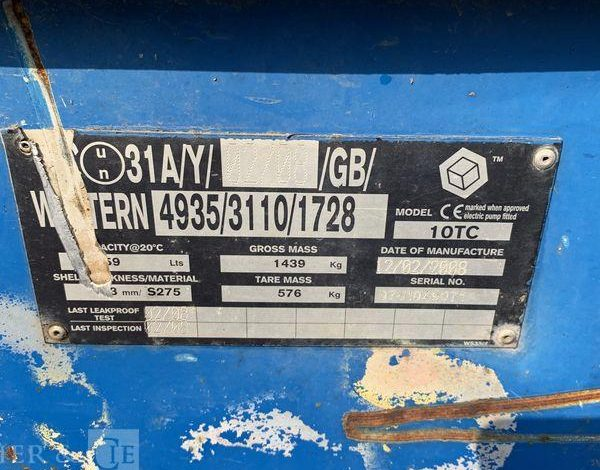 CUVE A FUEL 900 LIT  S11506