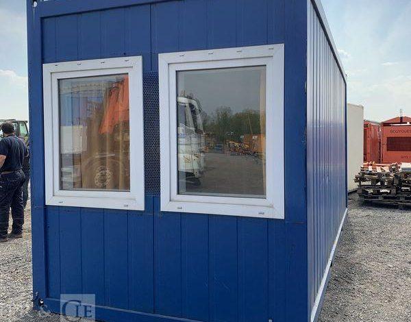 CONTAINEX BUREAU MODULAIRE 6M AVEC EQUIPEMENT SANITAIRES  SBM4