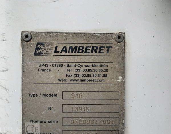 LAMBERET SEMI-REMORQUE 34T  FRIGO 3 ESS LAMBERET DE 2007 BLANC AP-805-GX