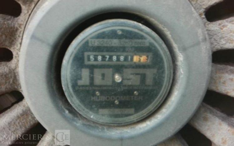 KRONE SREM BACHE 3 ESS 34T BLEU BC-173-MD
