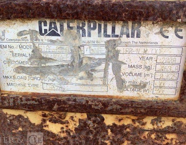 CATERPILLAR GODET DE CURAGE 220CM- POUR PELLE 22T  C22T010003