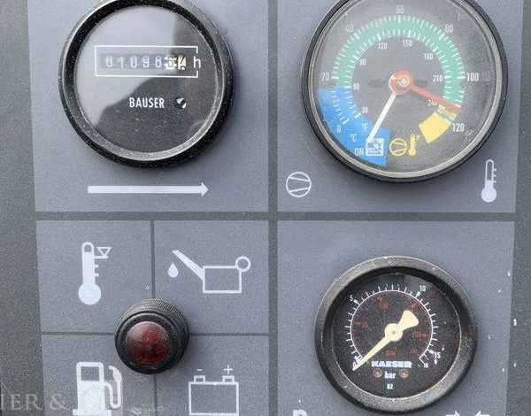 KAESER COMPRESSEUR D'AIR DIESEL – 7 bar – 2 000 l/min  COM010539