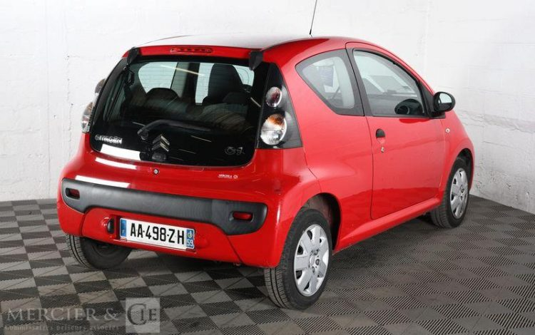 CITROEN C1 1,0i AIRDREAM ATTRACTION ROUGE AA-498-ZH
