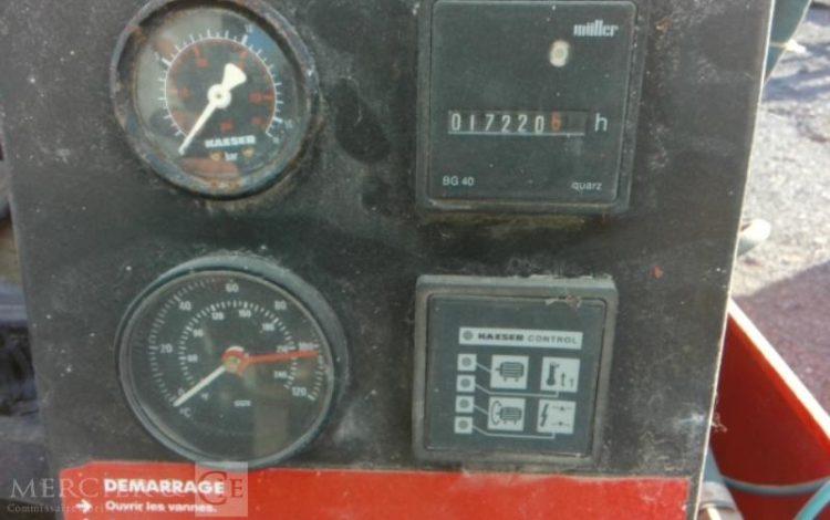 KAISER COMPRESSEUR ELECT 3500L A 4500L DE 1995  BCOMPE4