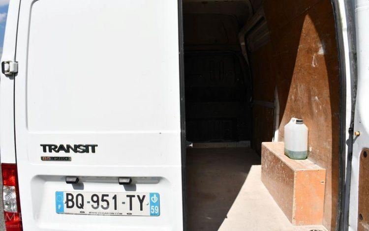 FORD TRANSIT FG 280C TDCI 85CH BLANC BQ-951-TY