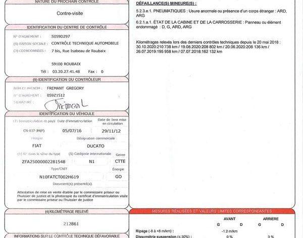FIAT DUCATO  MAXI XL H2 MJT 130CH CD CLIM BLANC CN-037-JM
