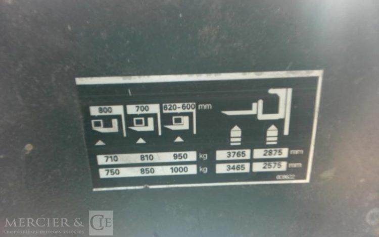 STILL GERBEUR ELECT EK11 1000KG NON ROULANT JAUNE LAN18