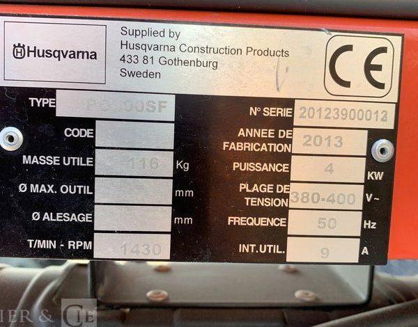 HUSQVARNA SURFACEUSE PONCEUSE DE SOL BETON 400V  SUR010022