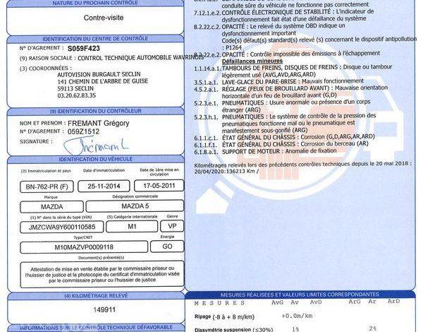 MAZDA MAZDA 5 1,6 MZCD 115CH GRIS BN-762-PR