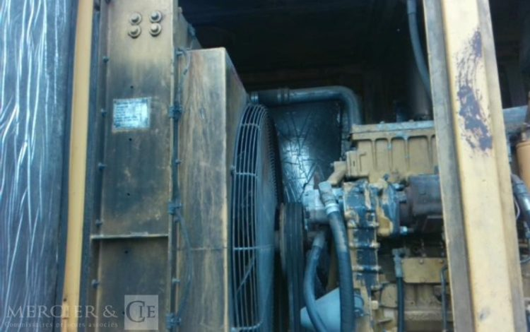 VERMEER SREM BROYEUR FORESTIER TG400A 2 ESS 19T500 JAUNE 370ZS51