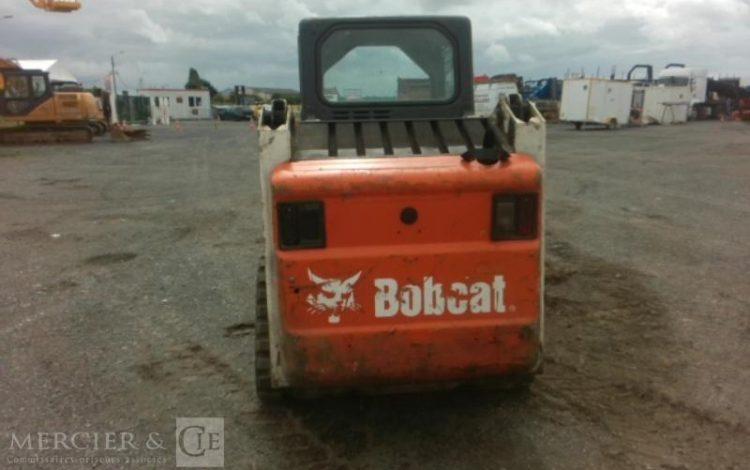 BOBCAT CHARGEUSE A CHENILLES BOBCAT T140 DE 2008 BORDEAUX 511323