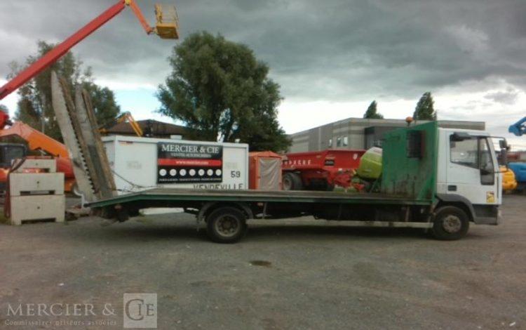 IVECO IVECO EUROCARGO PORTE ENGIN 10T BLANC 934BVT59