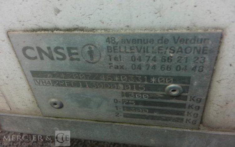 CNSE ABRI DE CHANTIER 9M2 ISOLE + WC 4 PERSONNES  ABR010590