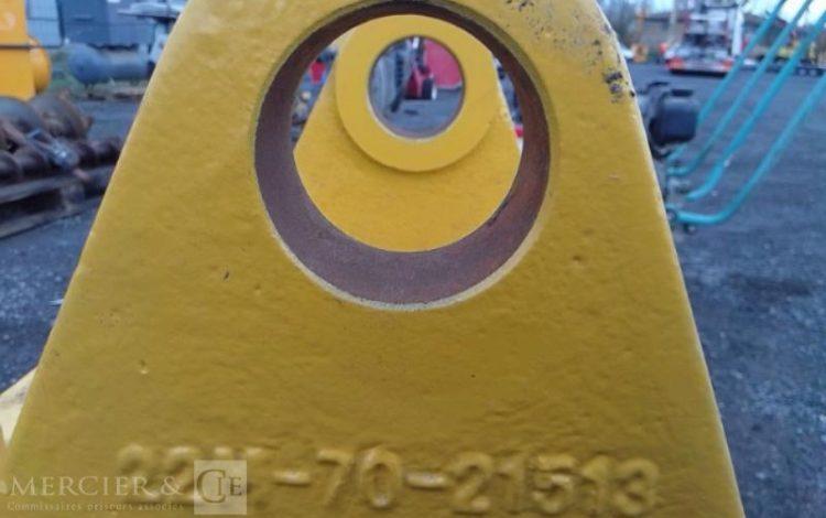 PIED DE FLECHE PC50 MR2 POUR MINIPELLE JAUNE PAL00001
