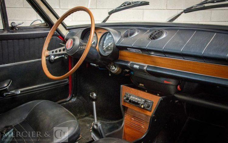 FIAT 850 COUPE SPORT ROUGE 303KJ85
