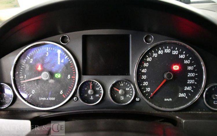 VOLKSWAGEN TOUAREG 3,0 V6 TDI 225 TIPTRONIC NOIR DA-983-NC