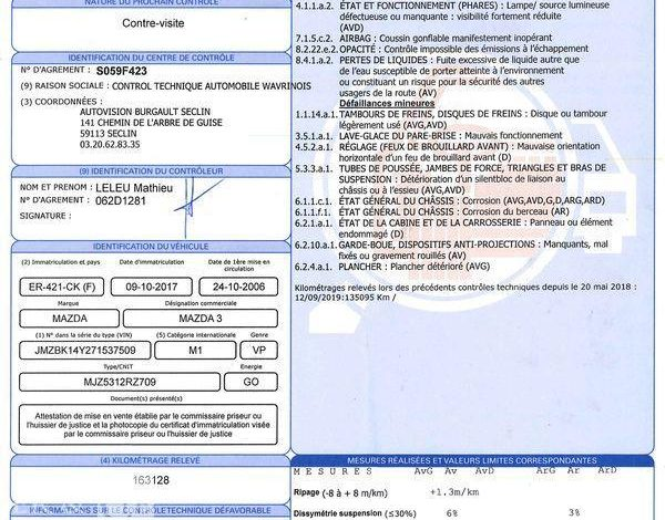 MAZDA 3 1,6 MZ-CD 110CH PERFORMANCE 5P NOIR ER-421-CK