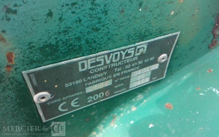 DESVOYS BROYEUR DESVOYS 2688 VERT LWP3
