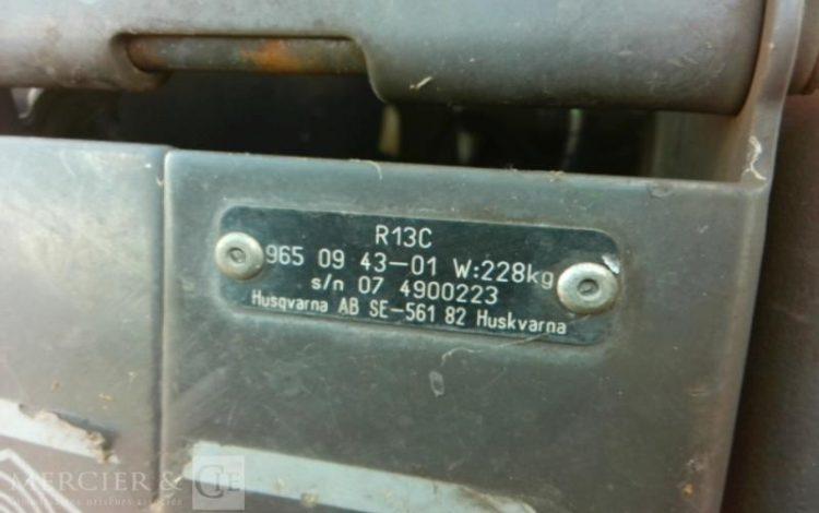 HUSQVARNA TONDEUSE RIDER HUSQVARNA R13C ORA LWP9