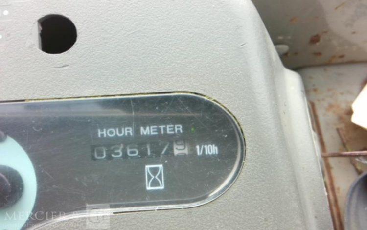 YANMAR MINI PELLE YANMAR VIO35 DE 2004 JAUNE RS2